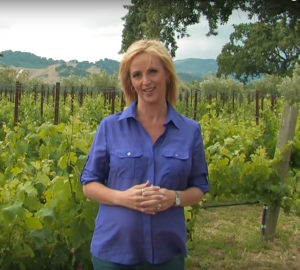 Sarah Brown at the Sogno Winery