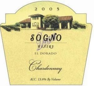 The Sogno Winery is lcoated in El Dorado CA